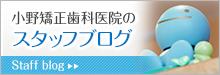 小野矯正歯科医院のスタッフブログ